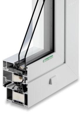 Aluminium-Fenster AF 85 WD
