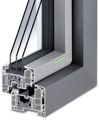 Aluminium-Kunststoff-Fenster AKF 714 S-WD (Passiv)