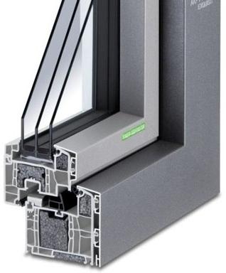 Aluminium-Kunststoff-Fenster AKF 714 S-WD P (Passiv)