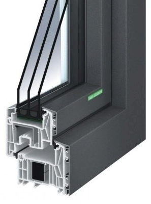 Aluminium-Kunststoff-Fenster AKF 724 S