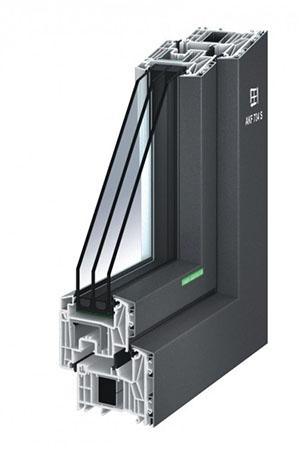 Aluminium-Kunststoff-Fenster AKF 734 S