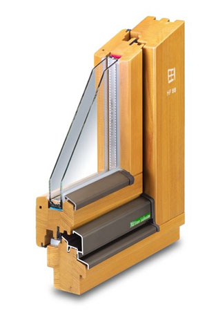 Holz-Fenster HF 68