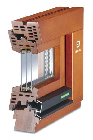 Holz-Fenster HF 90 WD