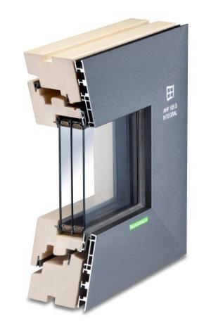 Holz-Aluminium-Fenster AHF 105 S Integral