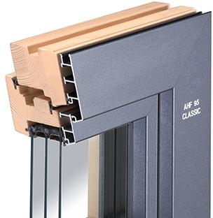 Holz-Aluminium-Fenster AHF 95 Classic