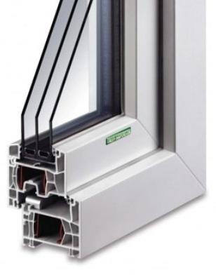 Kunststoff-Fenster KF 404 S