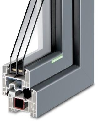 Kunststoff-Fenster KF 594