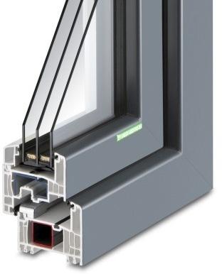 Kunststoff-Fenster KF 694