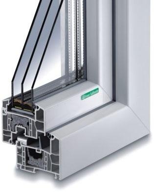 Kunststoff-Fenster KF 714 S-WD