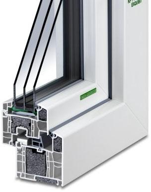 Kunststoff-Fenster KF 714 S-WD P