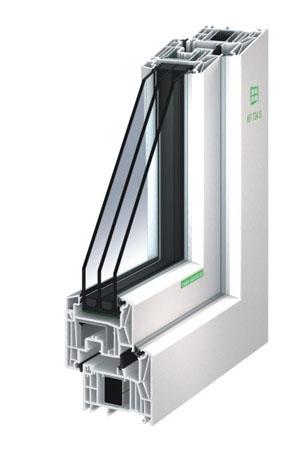 Kunststoff-Fenster KF 734 S